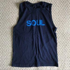 Blue SOUL Soulcycle tank top